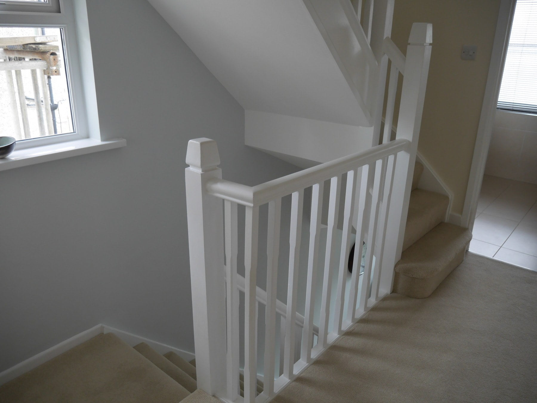 New staircase over existing