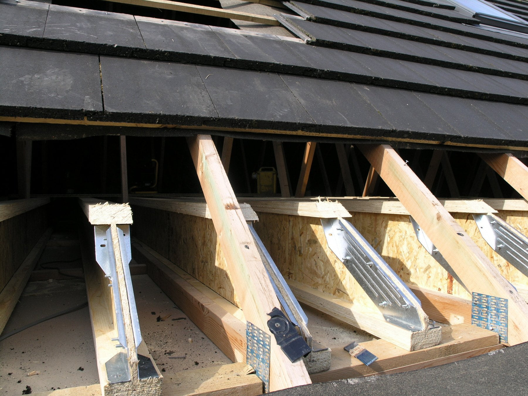 Timber Frame End